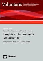 Insights on International Volunteering (Voluntaris Sonderbande)