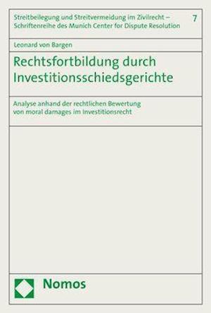 Rechtsfortbildung durch Investitionsschiedsgerichte