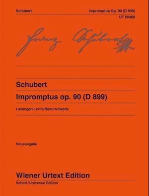 Bog, løsblade Impromptus Op. 90 (D899) af Franz Schubert