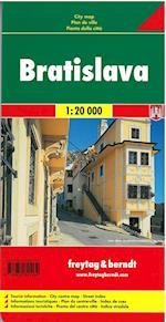 Bratislava - Pressburg, Freytag & Berndt City Map 1:20 000 (Freytag & Berndt city map)