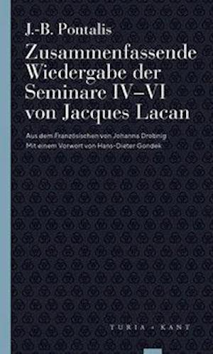 Zusammenfassende Wiedergabe der Seminare IV-VI von Jacques Lacan