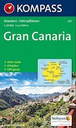 Gran Canaria, Kompass Wanderkarte 237 1:50 000 (Kompass wanderkarte, nr. 237)