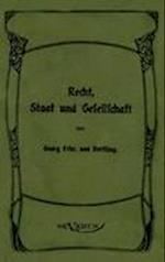 Georg Von Hertling - Recht, Staat Und Gesellschaft