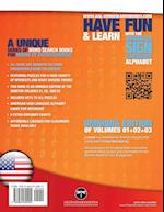 108 Word Search Puzzles with the American Sign Language Alphabet, Volume 04 (Bundle Volumes 01+02+03): ASL Fingerspelling Word Search Games