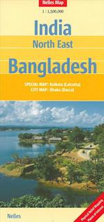 India: North East, Bangladesh (Nelles Map)