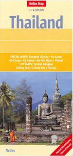 Thailand, Nelles Map af Nelles Verlag