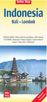 Nelles Map Indonesia bl. 3: Bali & Lombok (Nelles Map)