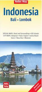 Nelles Map Indonesia bl. 3: Bali & Lombok af Nelles Verlag