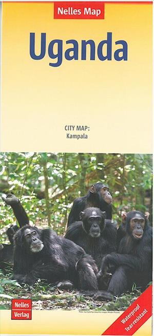 Bog, falset Uganda, Nelles Maps af Nelles Verlag