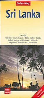 Sri Lanka, Nelles Map af Nelles Verlag