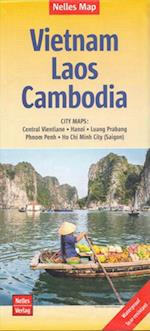 Vietnam Laos Cambodia, Nelles Map (Nelles Map)