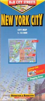 New York City, Borch City Map 1:15.000 (Borch City Maps)