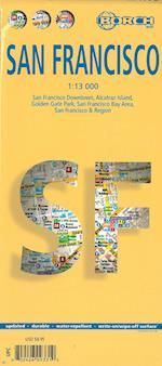 San Francisco, Borch City Map 1:13.000 (Borch City Maps)