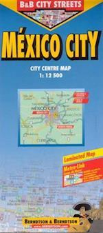 Mexico City (lamineret)*, Borch Map 1:12.500 (Borch City Maps)