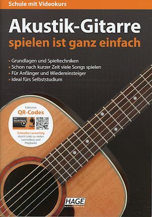 Akustik-Gitarre spielen ist ganz einfach + CD + DVD