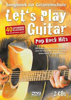 Let's Play Guitar Pop Rock Hits + 2 CDs