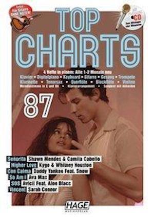 Top Charts 87 (mit CD + Midifiles, USB-Stick)