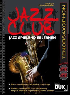 Jazz Club, Tenorsaxophon (mit 2 CDs)