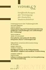 Leistungsgrenzen Des Verfassungsrechts. ÖFfentliche Gemeinwohlverantwortung Im Wandel (Veraffentlichungen Der Vereinigung Der Deutschen Staatsrecht, nr. 62)