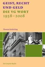 Geist, Recht Und Geld = Intellect, Law and Money