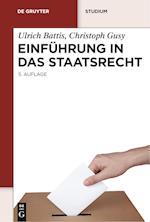 Einfhrung In das Staatsrecht af Ulrich Battis, Christoph Gusy