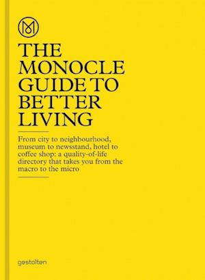 Bog, hardback The Monocle Guide to Better Living af The Monocle