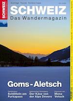 Goms-Aletsch af Redaktion Wandermagazin Schweiz