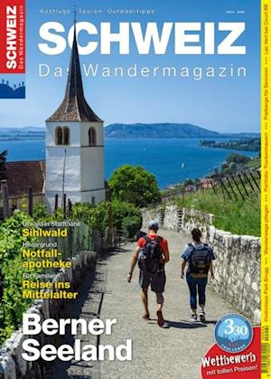 Berner Seeland af Redaktion Wandermagazin Schweiz