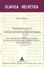 Textinterferenz in Russisch-Deutschen Uebersetzungen (Slavica Helvetica, nr. 61)