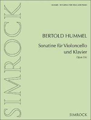 Sonatine für Violoncello und Klavier