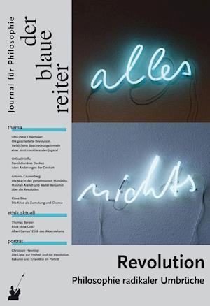 Der Blaue Reiter. Journal für Philosophie / Revolution