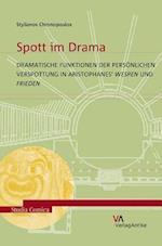 Spott Im Drama (Studia Comica)