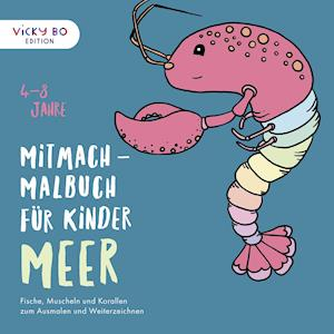 Mitmach-Malbuch für Kinder - MEER
