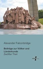 Beitrage Zur Volker Und Landerkunde