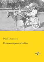 Erinnerungen an Indien af Paul Deussen