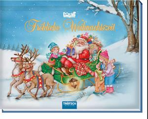 """Mini Pop-Up Buch """"Fröhliche Weihnachtszeit"""""""