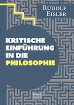 Kritische Einfuhrung in Die Philosophie