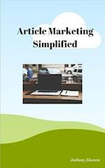 Article Marketing Simplified af Anthony Udo Ekanem