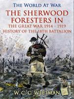 Sherwood Foresters in the Great War 1914 - 1919 / History of the 1/8th Battalion af W. C. C. Weetman