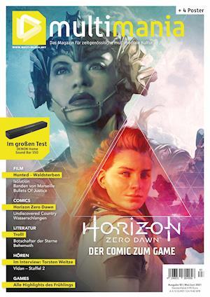 multimania - Das Magazin für zeitgenössische multimediale Kultur. Ausgabe #83 (Mai/Juni 2021)
