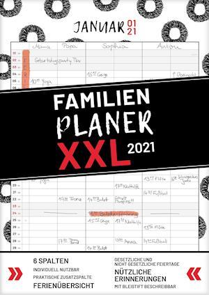 XXL Familienplaner 2022 zum Aufhängen in DIN A3. Hochwertiger und übersichtlicher Familienkalender 2022 mit 3 bis 6 Spalten, plus einer Zusatzspalte. Wandkalender inklusive gesetzlicher und nicht-gesetzlicher Feiertage, Ferien und Zusatzinfos.