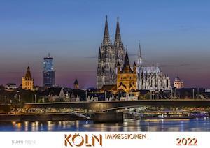 Köln 2022 Bildkalender A2 quer