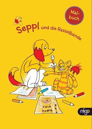 Seppl und die Rasselbande Malbuch