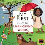 My First Book of Afaan Oromo Words