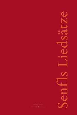 Senfls Liedsätze - Klassifikation und Detailstudien eines modellhaften Repertoires