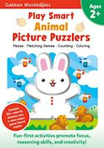 Play Smart Animal Picture Puzzlers 2+ (Gakken Workbooks)