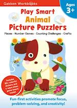 Play Smart Animal Picture Puzzlers 3+ (Gakken Workbooks)