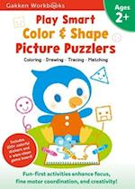 Play Smart Color and Shape Puzzlers 2+ (Gakken Workbooks)
