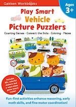 Play Smart Vehicle Picture Puzzlers 3+ (Gakken Workbooks)