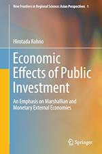 Economic Effects of Public Investment : An Emphasis on Marshallian and Monetary External Economies